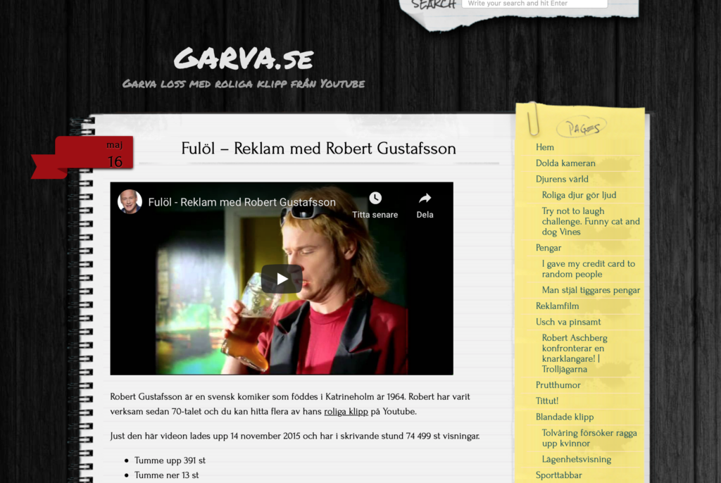 Garva.se Domän